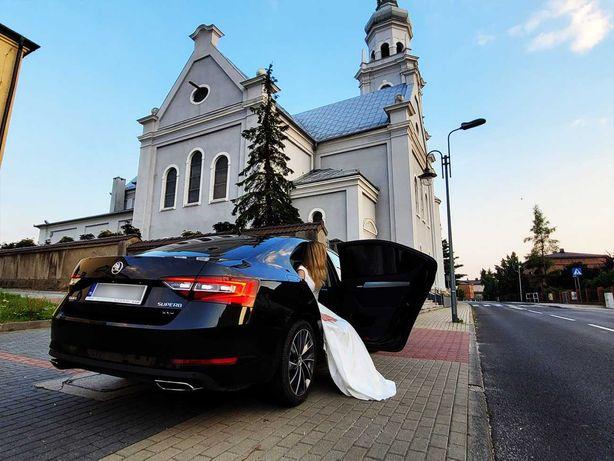 Auto, samochód do ślubu. Skoda Superb III, 360KM