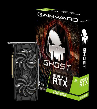 2x Gainward GeForce RTX 2060 SUPER Ghost / 42.5MH/s