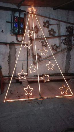 Árvore de Natal de rua em led