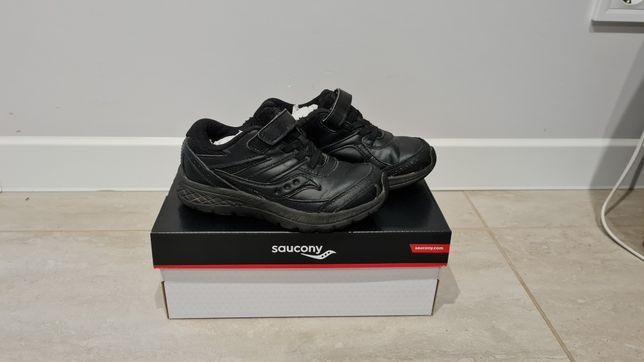 Кожаные кроссовки Saucony