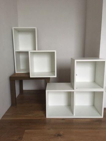 Półki wiszące białe IKEA 4szt.
