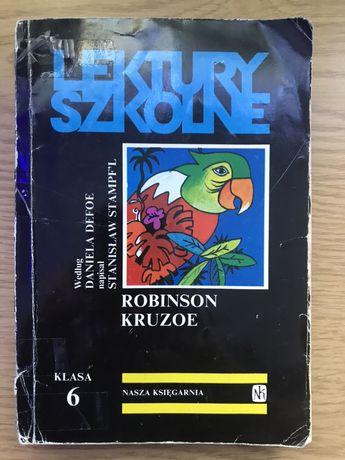 """Książka """"Robinson Kruzoe"""""""