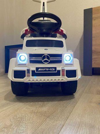 Электромобиль-каталка Kidsauto Mercedes-Benz G63 AMG 6x6 White