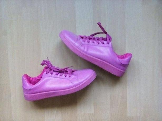 RÓŻOWE ADIDASY! SUPERSTAR'Y, różowe buty, r. 39, sportowe :)