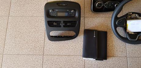 Clio 4 volante e radio GPS e manuais