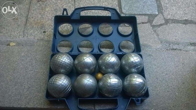 Vendo conjunto de bolas de petanca usadas
