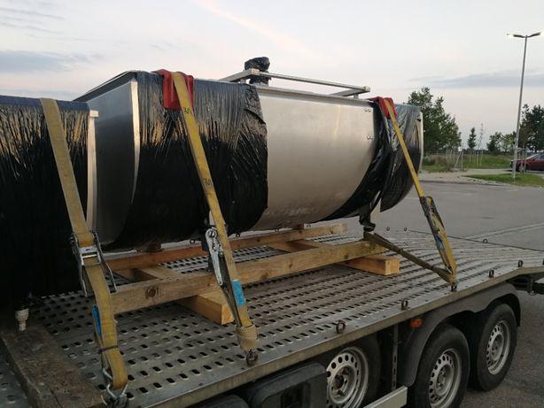 Schładzalnik , zbiornik do mleka wannowy Westfalia Titan 1200 l