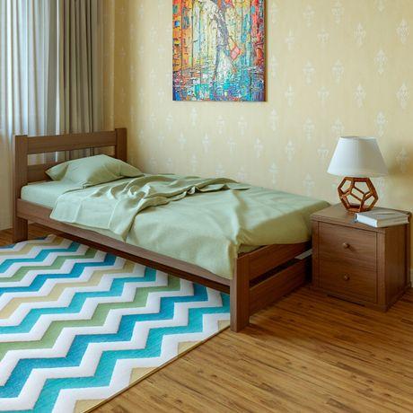 Ліжко дерев'яне «Моно» (є в наявності) ДОСТАВКА БЕЗКОШТОВНА