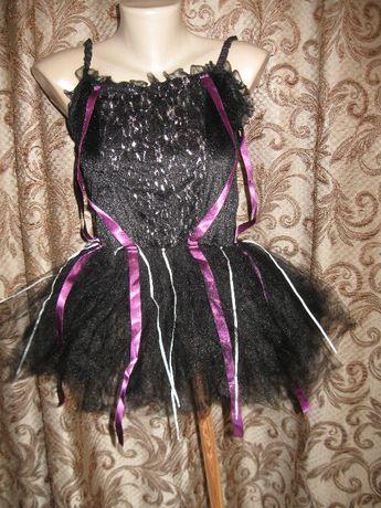 карнавальное платье для танцев с пышной юбкой трусиками костюм кошки