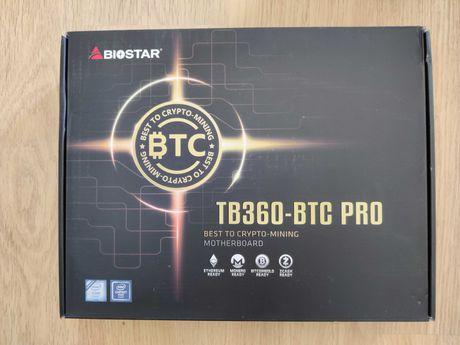Mining - Motherboard Biostar TB360-BTC Pro - Nova