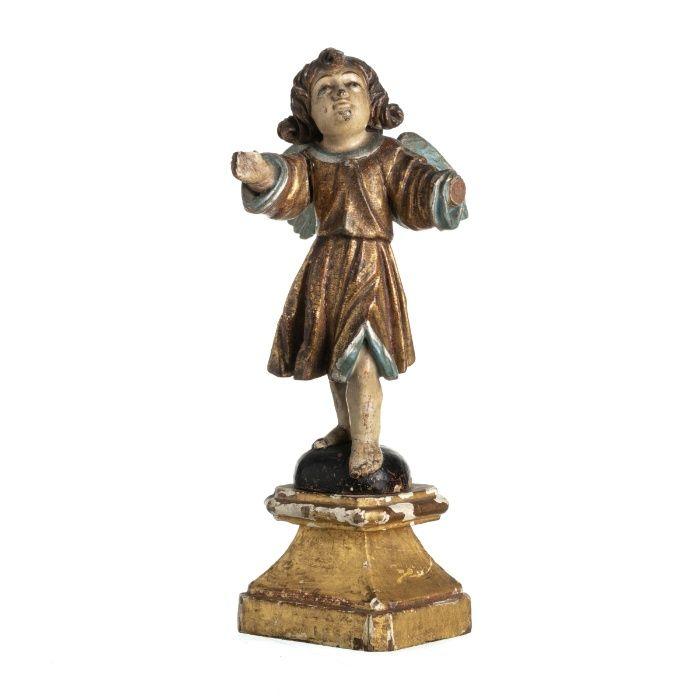 Figura Anjo Século XVIII Guimarães - imagem 1