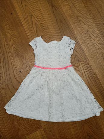 Sukienka letnia elegancka Smyk Cool Club rozmiar 104