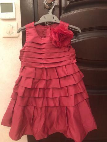 Праздничное платье, нарядное платье, платье mothercare