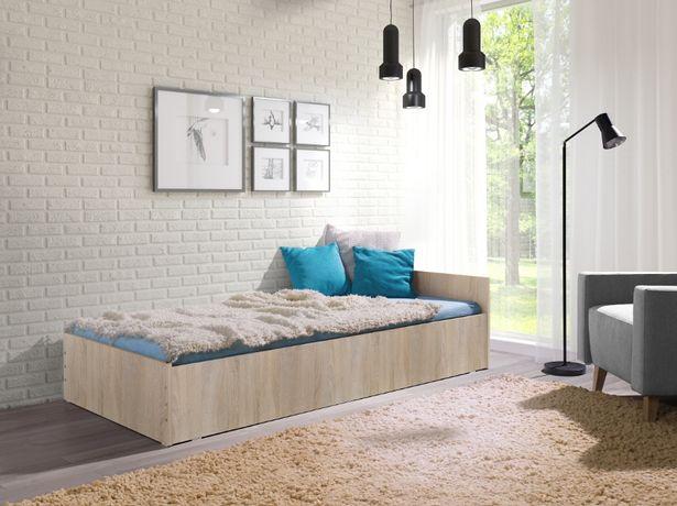 Łóżko Łóżka dla Studentów Hotelowe z Materacem 90/200 Nowe Producent