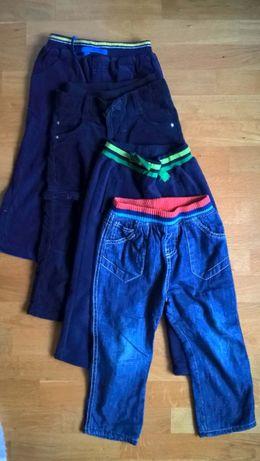 spodnie ocieplane 92