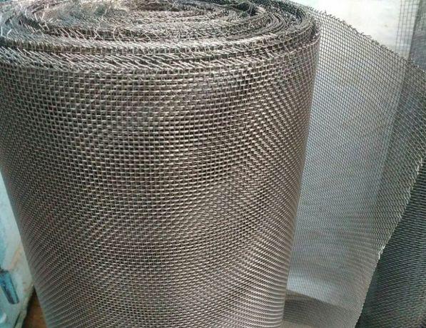 Тканная сетка нержавейка АИСИ 304 в рулоне или 1м2
