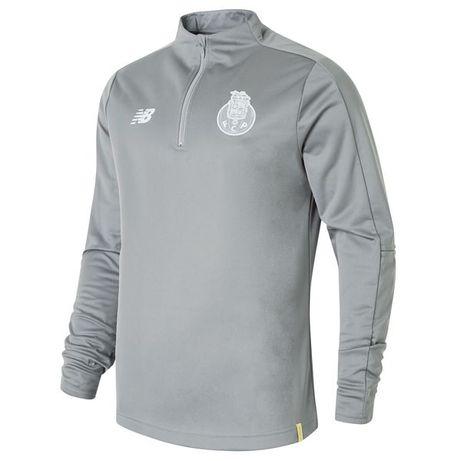 Sweat Corta Vento Cinza FC Porto 18/19