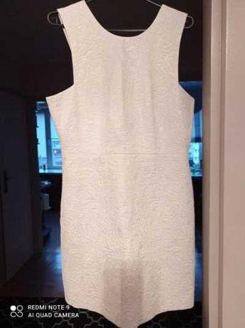 Lekko błyszcząca sukienka H&M