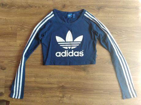 Krótka bluzka marki Adidas