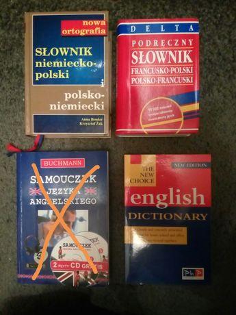 Słowniki do angielskiego, niemieckiego i francuskiego