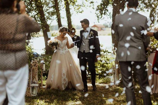 Suknia ślubna 34/36 z Atelier Rosa, Anna Piszczałka
