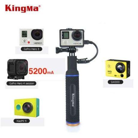 Monopé + Bateria 5200 Mah KingMa - Gopro - Novo - Portes Gratis