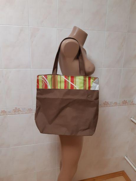 Пляжная сумка на молнии