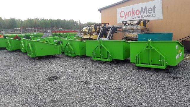 Skrzynia Transportowa - Załadunkowa, Hydrauliczna do Ciągnika, na Tuza