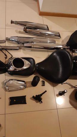 Yamaha Drag star 1100 i 650 siedzenie idealny stan