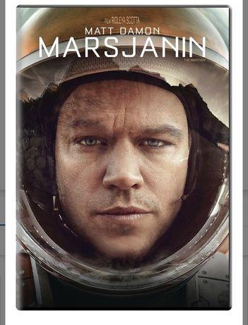 OKAZJA! Nowy film Marsjannin Matt Damon DVD zafoliowany -40% taniej!
