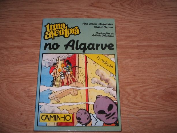 Livro (Uma Aventura no Algarve) de Ana Maria Magalhães e Isabel Alçada
