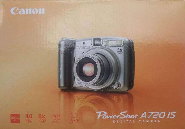 Câmara Fotográfica CANON PowerShot A720 IS