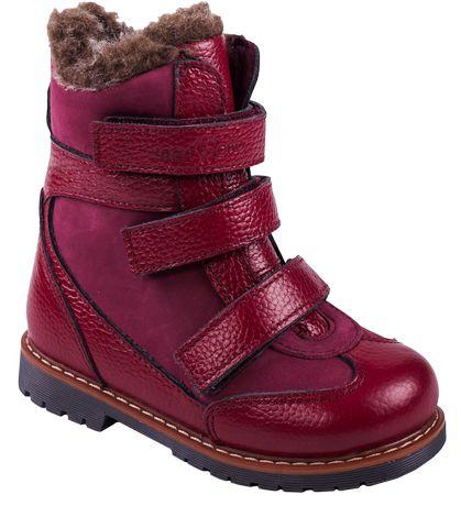 Ортопедические сапоги ботинки Зима Кожа девочкам и мальчикам