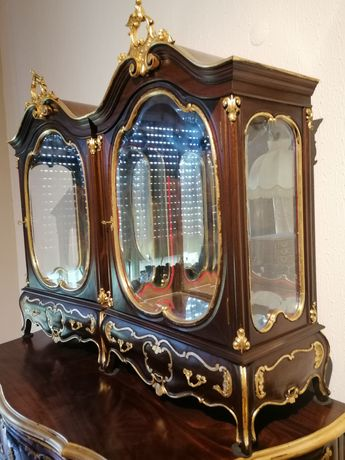 Par Vitrines (Cristaleiras Louceiro Expositor Oratórios Sacra) Luís XV