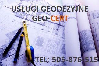 Usługi geodezyjne, geodezja, geodeta