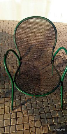 Cadeiras de ferro de exterior