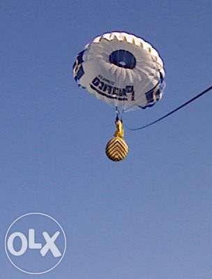 Parasaill paraquedas para andar atras de um barco ou de mota de agua
