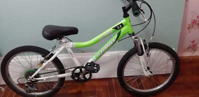 Велосипед Azimut на колесах 20 дюймов
