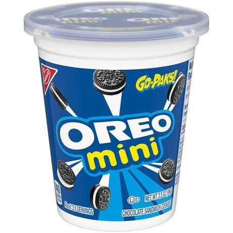Oreo Mini в стаканчике орео міні мини маленькие печенье печиво опт США