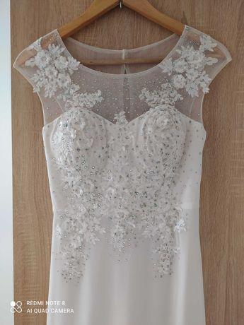 Piękna suknia ślubna! Polecam!!