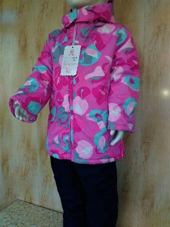 Красивенный Зимний костюм комбинезон на девочку 1,2,4-5 лет
