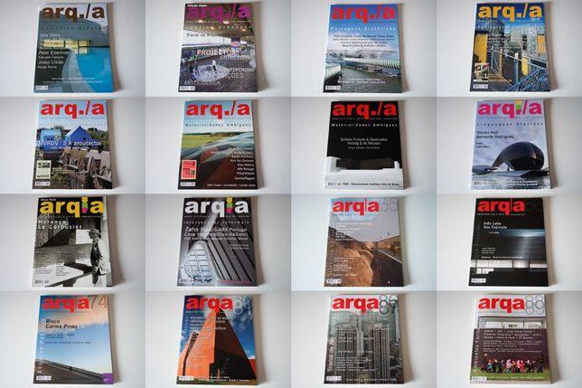 Publicações e revistas de Arquitectura - Arq./A, Arq. Ibérica, D'arco