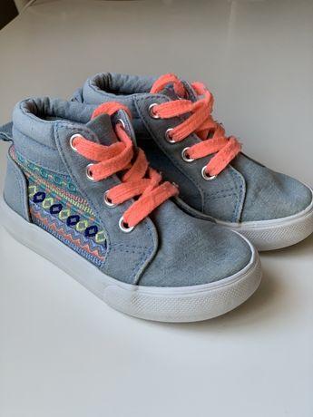 Детские кеды кроссовки ботиночки размер 23 c6 14 см