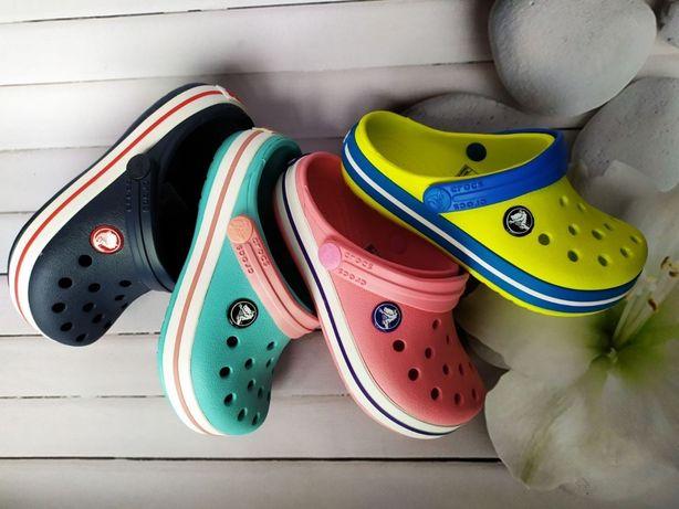Детские подростковые Кроксы Crocs Crocband 2,5 -6 цветов. Жми купить