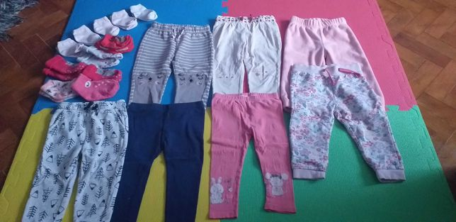 Dla dziewczynki  spodnie