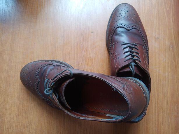 Мужские кожаные туфли Herring Shoes