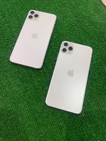 iPhone 11 Pro max 256 Silver neverlock акб 91% Идеал Магазин