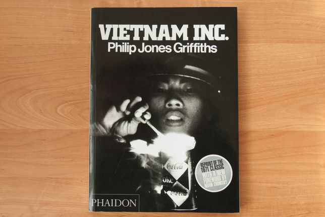 Philip Jones Griffiths - VIETNAM INC. (fotoreportaż wojna w Wietnamie)