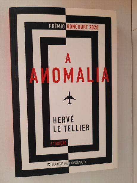 """Livro """" a anomalia"""" - Hervé le Tellier"""