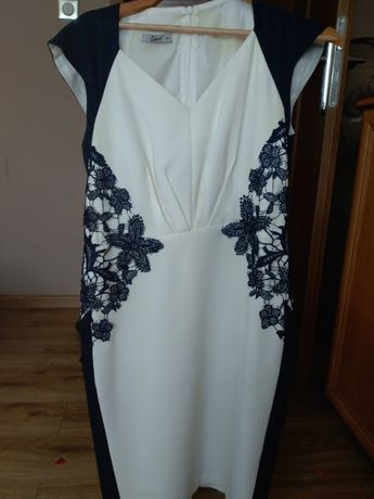 sukienka damska z krótkim rękawm